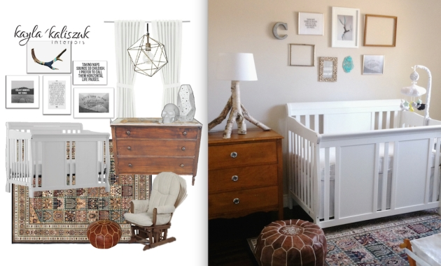 Concept to Completion Baby Room